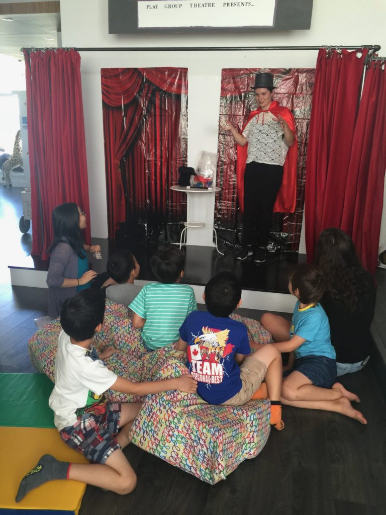 Integrated Play Groups Magic Show