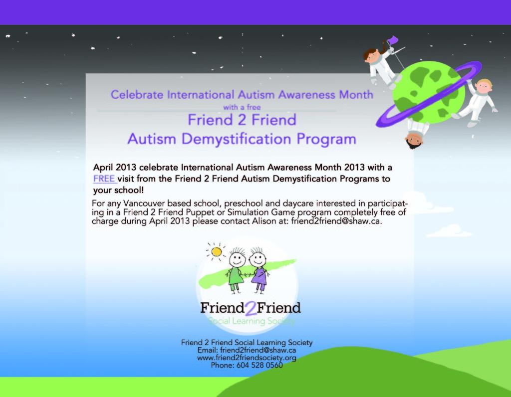 F2F Autism Awareness 2013 2